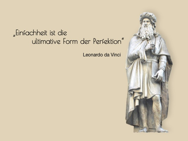 Zitat Leonardo da Vinci